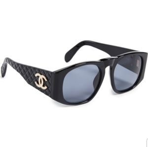 CHANEL Bedding - **sale**Chanel Sunglasses Black Quilt